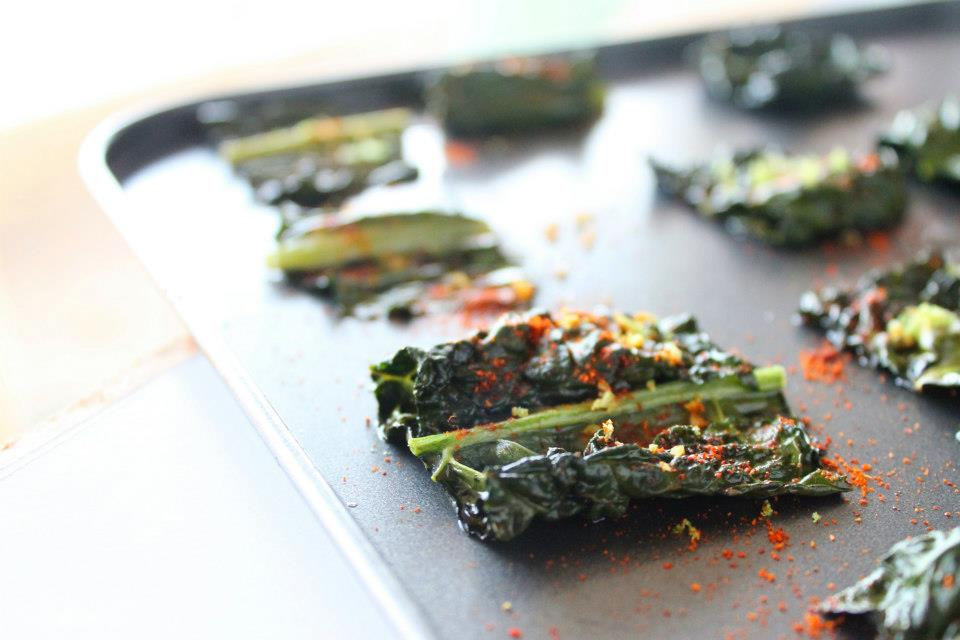 Lime& Chilli Kale chips